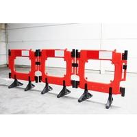 thumb-Barrière de chantier Clearpath orange 1000 x 1000 mm-5