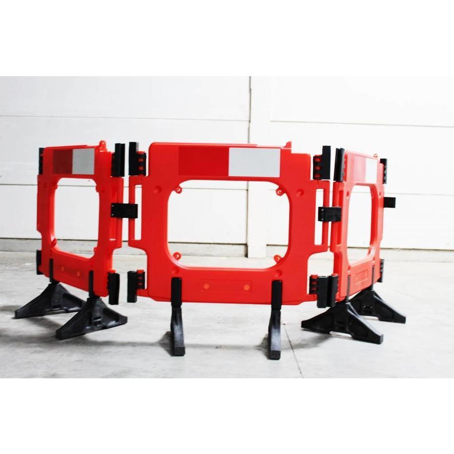 Barrière de chantier Clearpath orange 1000 x 1000 mm-6