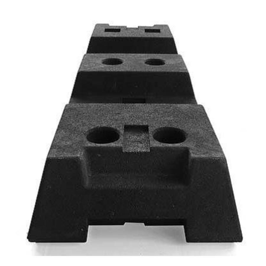 Socle pour clôtures de chantier - 16 kg-1