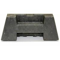 thumb-Socle pour clôtures de chantier - 16 kg-3
