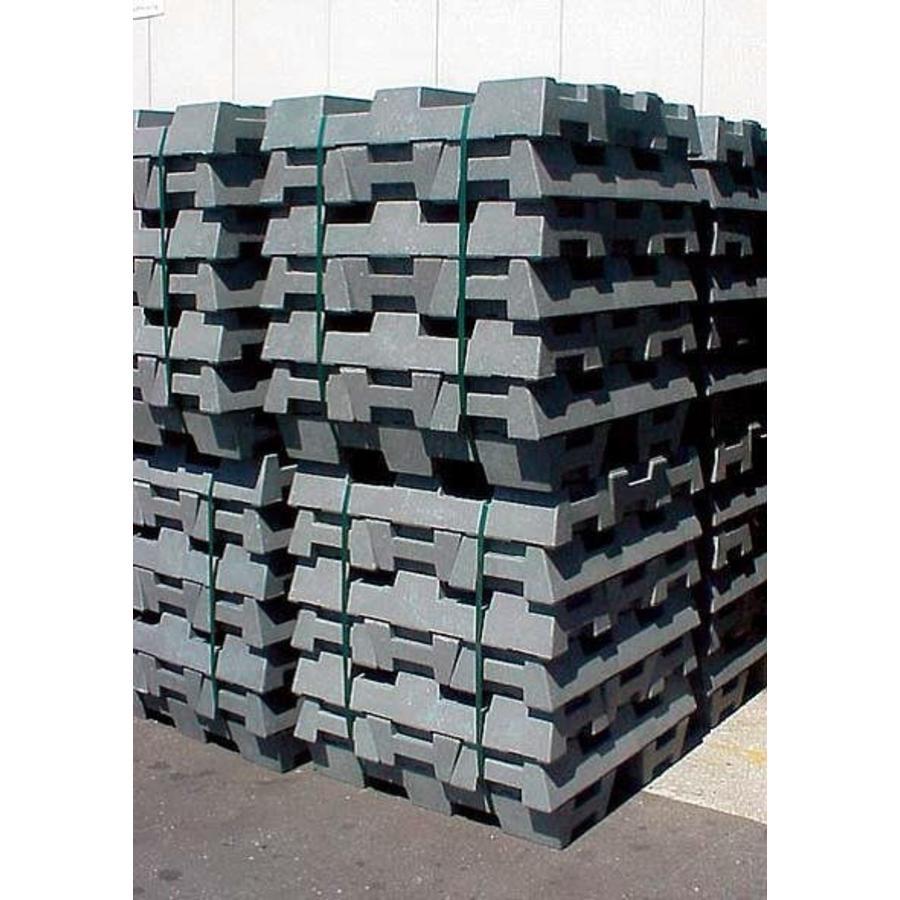 Socle pour clôtures de chantier - 16 kg-4