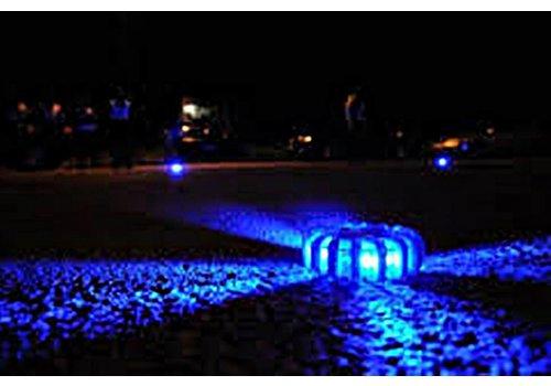 Lampe de détresse bleue