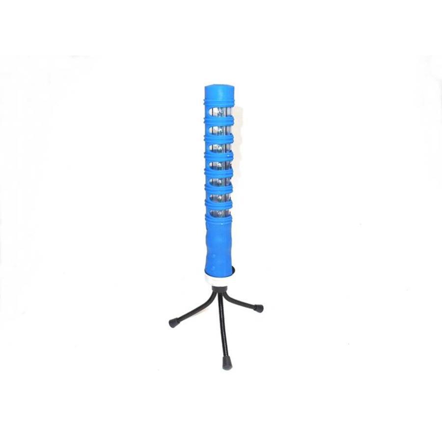 Baton de police lumineux - bleu - rechargeable-2