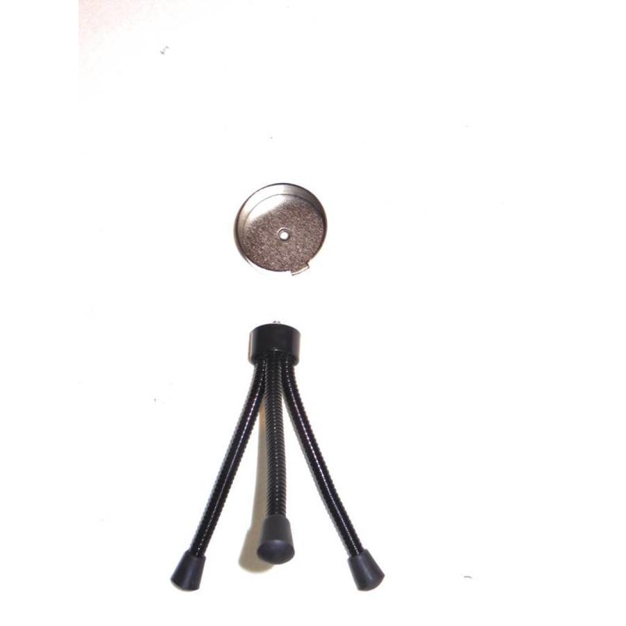 LED Toortslamp - blauw  oplaadbaar-4