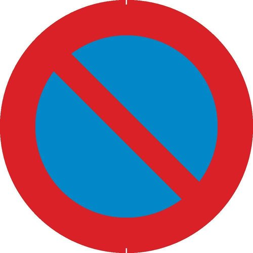 Panneau B6a1: Stationnement interdit