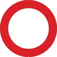 Bord C3: Verboden toegang, in beide richtingen, voor ieder bestuurder.