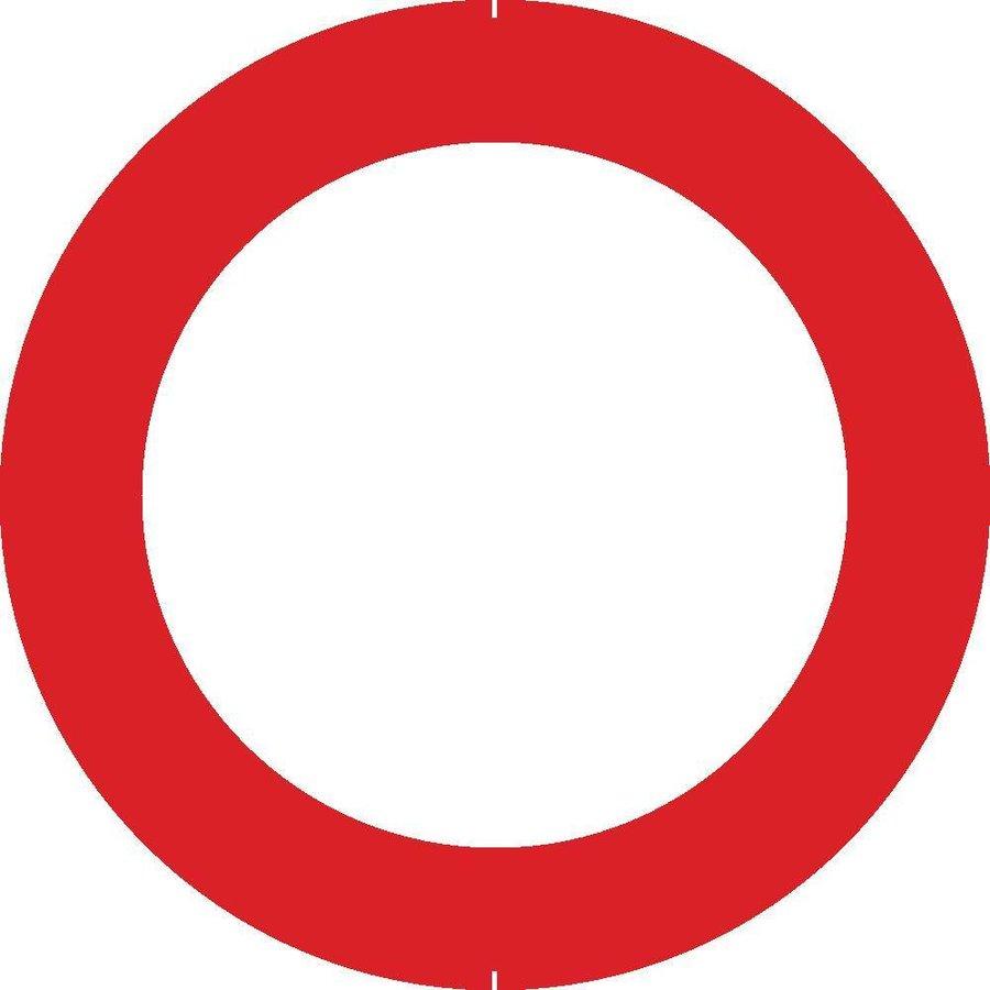 Bord C3: Verboden toegang, in beide richtingen, voor ieder bestuurder.-1