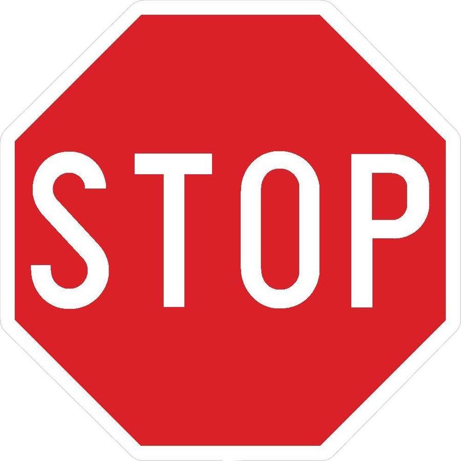 Panneau AB4: Panneau STOP-1
