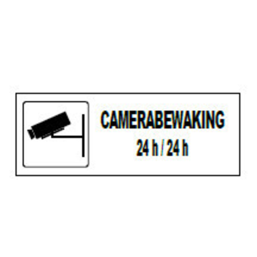 Pictogram 'Camerabewaking' 330 x 120 mm-1