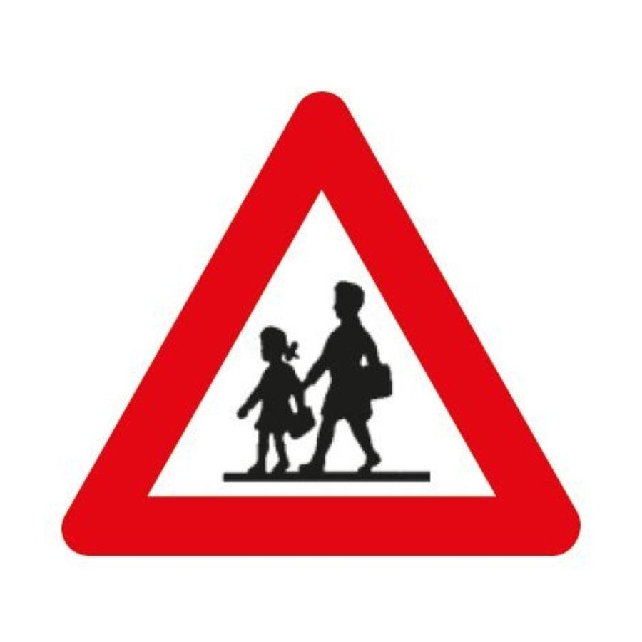 Panneau A23: Endroit fréquenté par les enfants-1