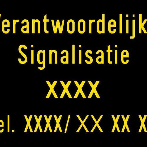 Responsable signalisation