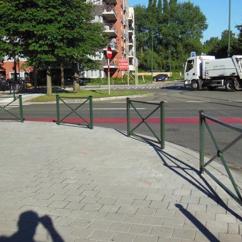 Potelets de trottoir - barrières decoratives
