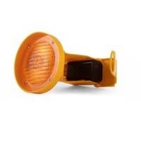 thumb-Lampe de chantier CONESTAR 1000 pour cônes - Jaune ( batterie excl. )-4