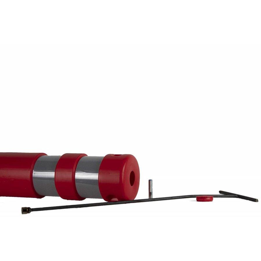 """Plooibaken """"Traffiflex""""- rood - nieuw model-6"""