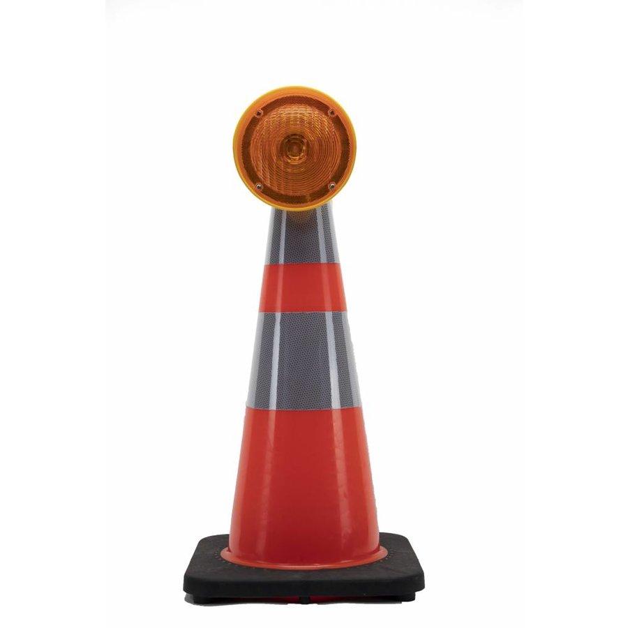 Lampe de chantier CONESTAR 1000 pour cônes - Jaune ( batterie excl. )-3
