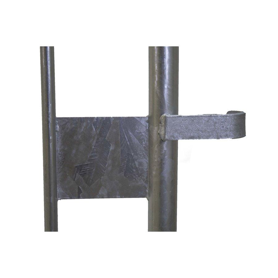 Dranghek/Nadarhek 18 spijlen - 2500 x 1100 mm-6