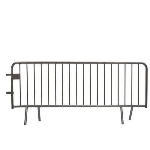 Barrière de police 18 barreaux - 2500 x 1100 mm