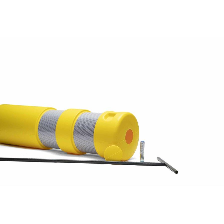 """Plooibaken """"Traffiflex""""- geel- nieuw model-6"""