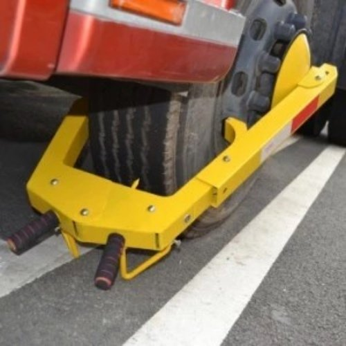 Sabot d'immobilisation camions