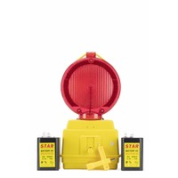 thumb-Lampe de chantier STAR 2000 - rouge-7