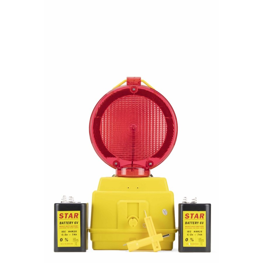 Werflamp STAR 2000 - rood-7
