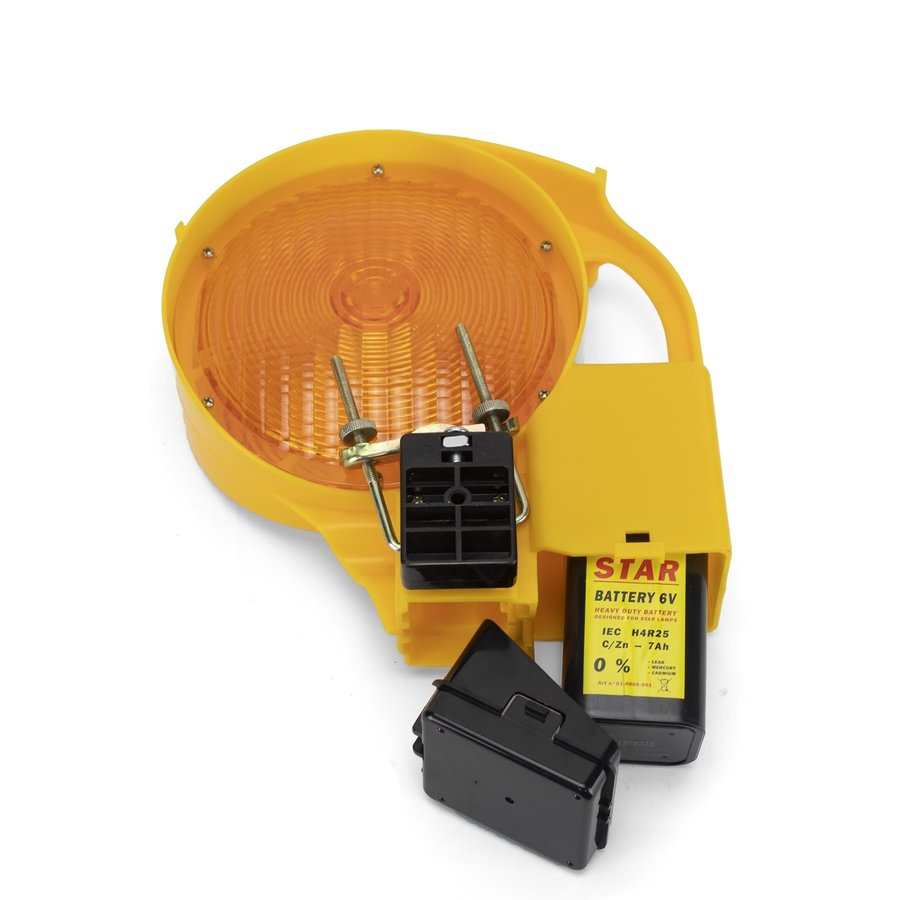 Warning lamp STAR 6000 - double sided - yellow-3