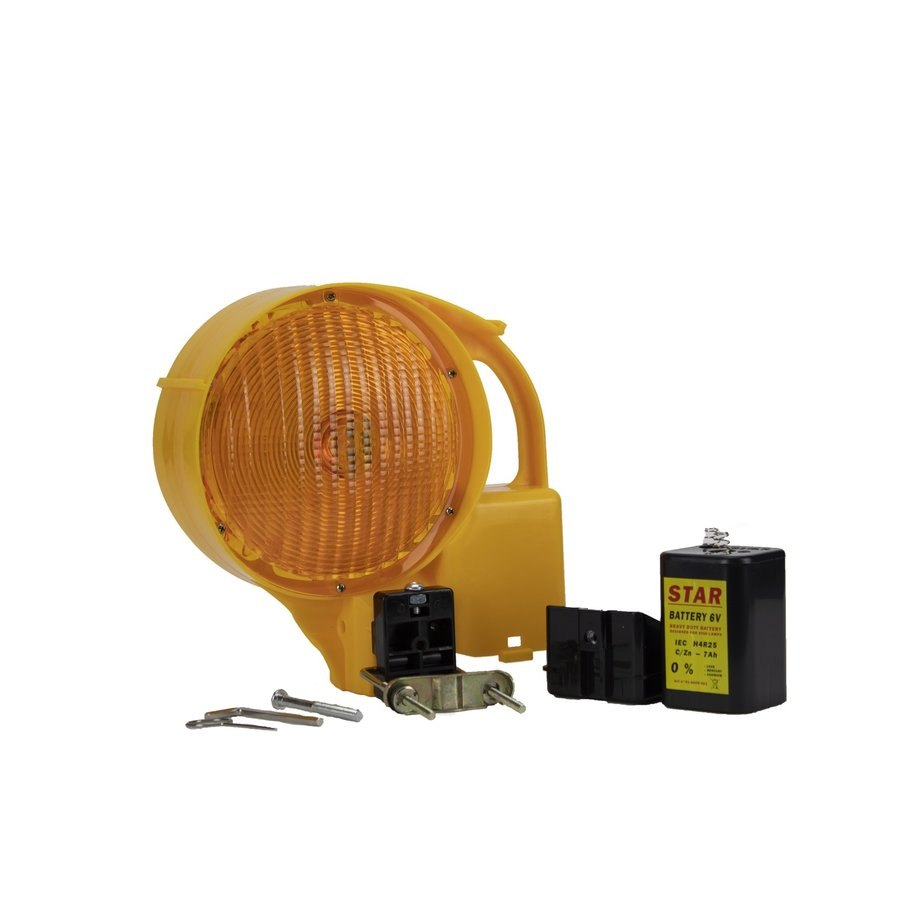 Warning lamp STAR 6000 - double sided - yellow-5
