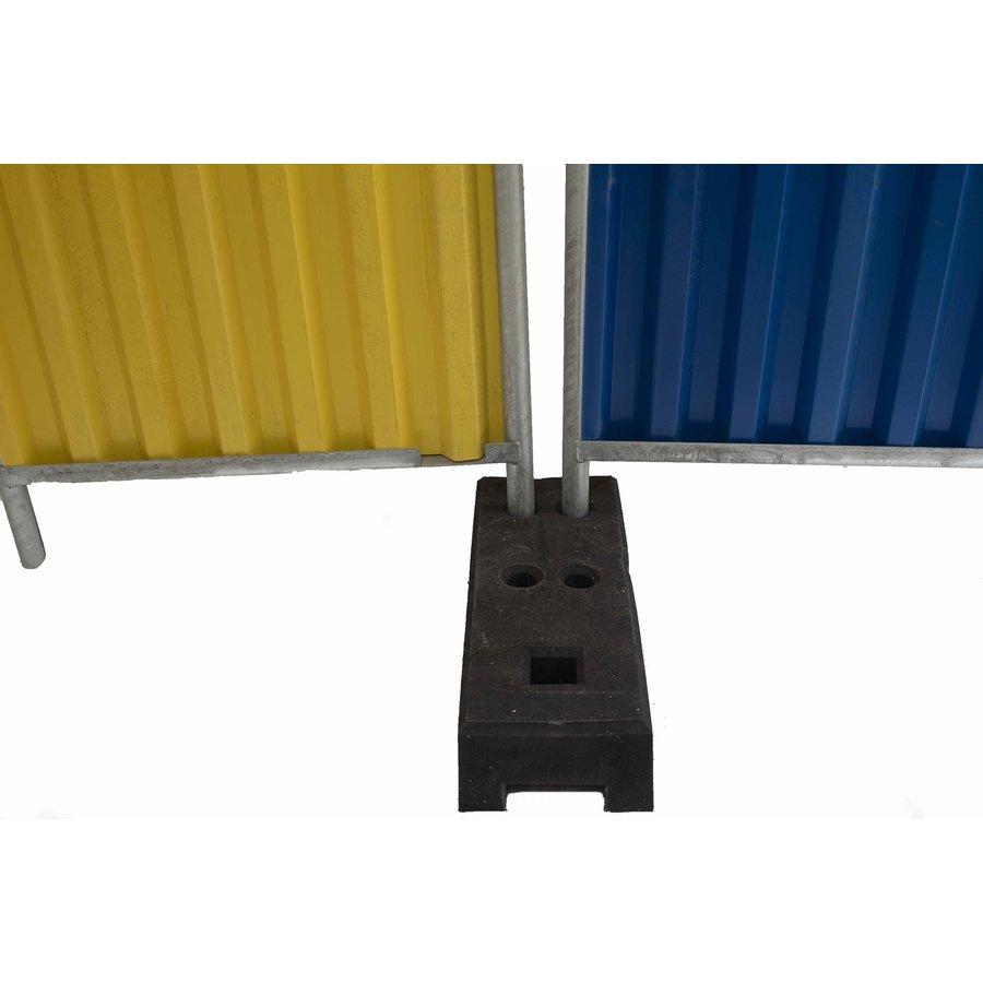 Socle pour clôtures de chantier - 25 kg - PVC recyclé-4