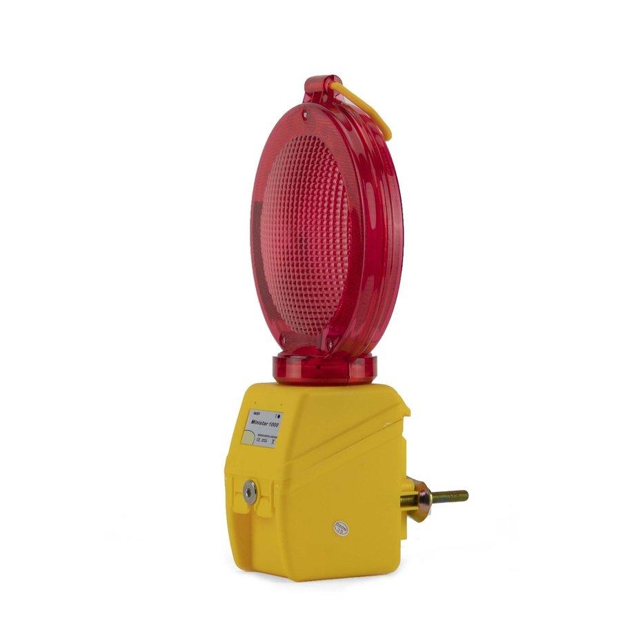 Lampe de chantier MINISTAR 1000 - Rouge-1