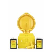 thumb-Lampe de chantier STAR 2000 - Jaune-3