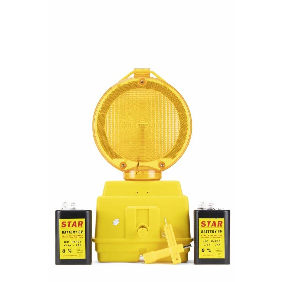 Lampe de chantier STAR 2000 - Jaune-3
