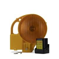 thumb-Lampe de chantier STAR 7000 - simple face - jaune-4
