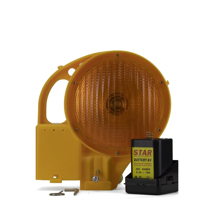 Werflamp STAR 7000 - enkelzijdig - geel-4