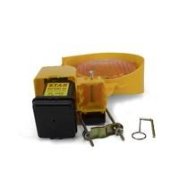 thumb-Lampe de chantier STAR 7000 - simple face - jaune-5