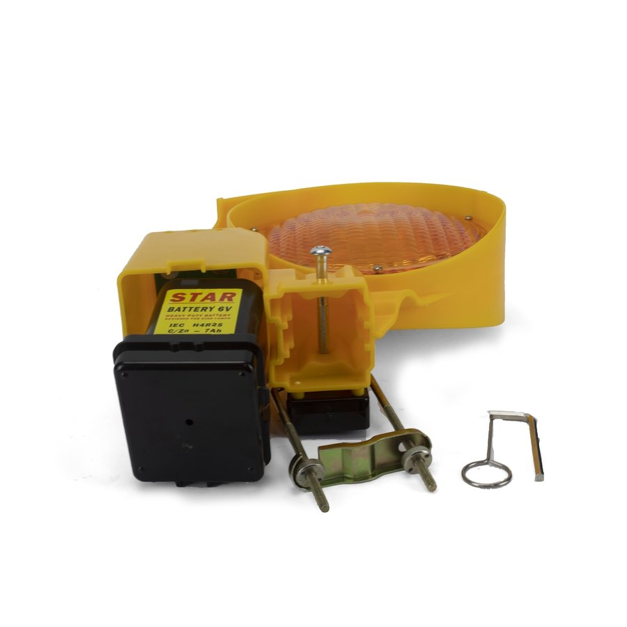 Lampe de chantier STAR 7000 - simple face - jaune-5