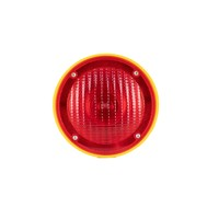 thumb-Lampe de chantier Conestar pour cônes de signalisation - Rouge (excl. pile)-1