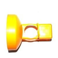 thumb-Lampe de chantier Conestar pour cônes de signalisation - Rouge (excl. pile)-7