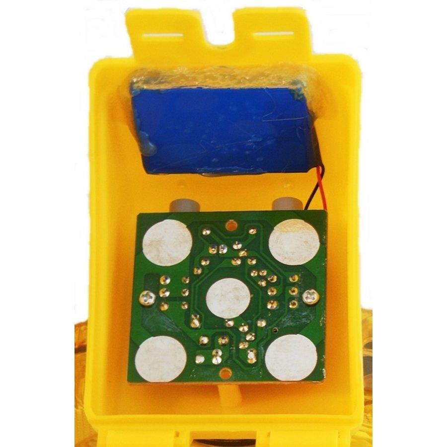Oplaadbare werflamp SOLSTAR - geel-3