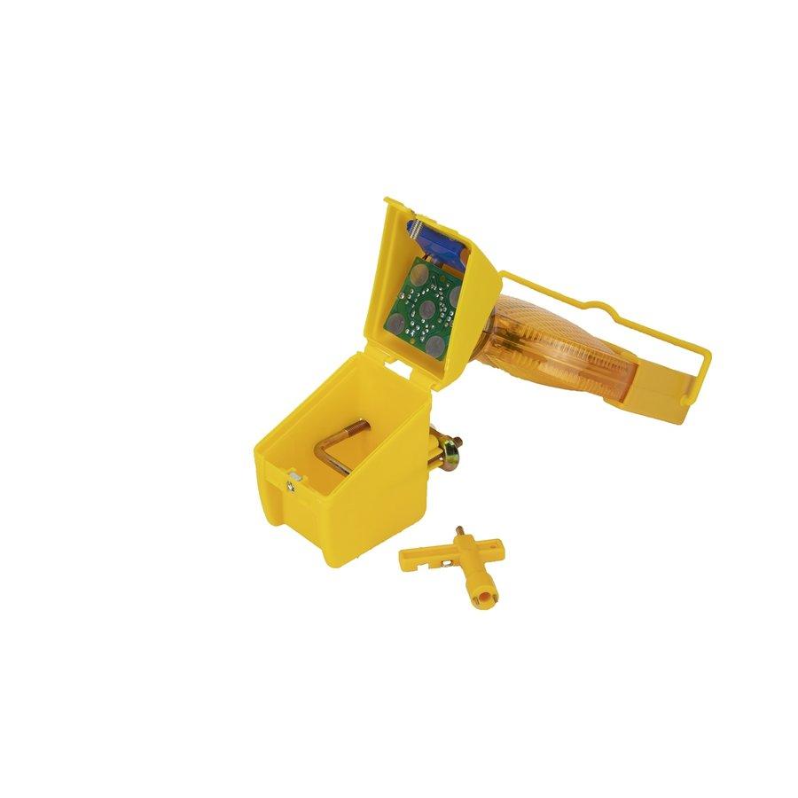 Oplaadbare werflamp SOLSTAR - geel-4