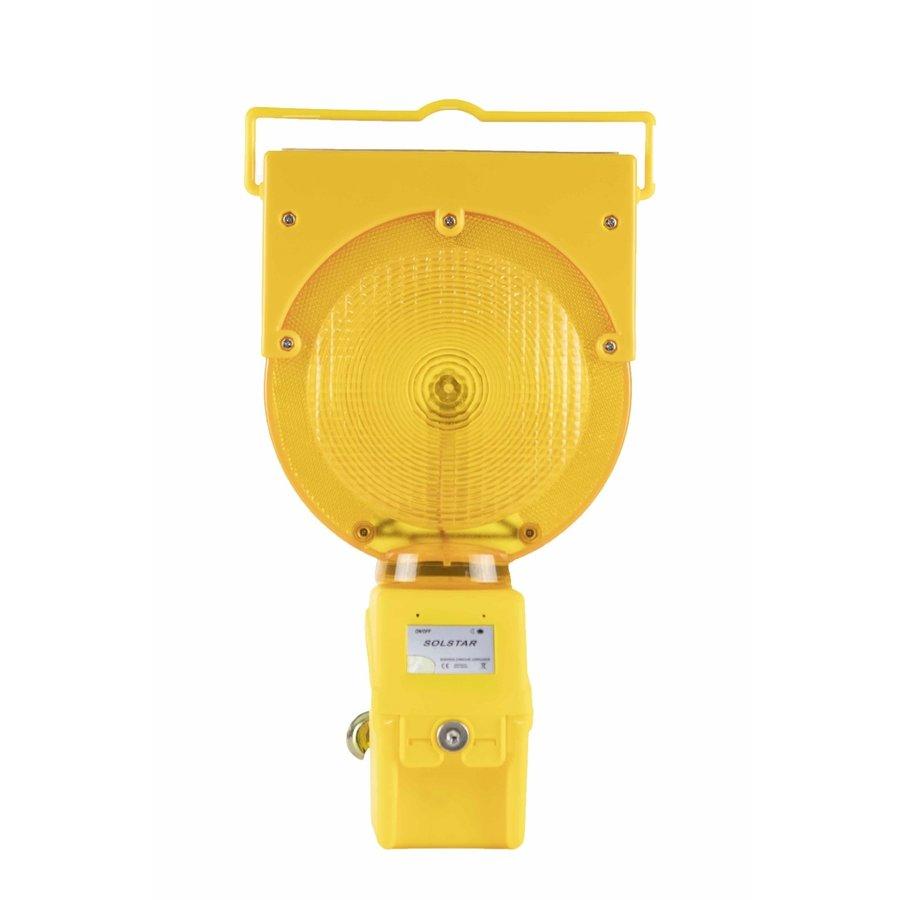 Oplaadbare werflamp SOLSTAR - geel-2