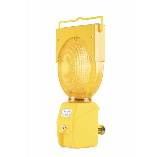 Werflamp SOLSTAR - geel (incl. BEBAT)