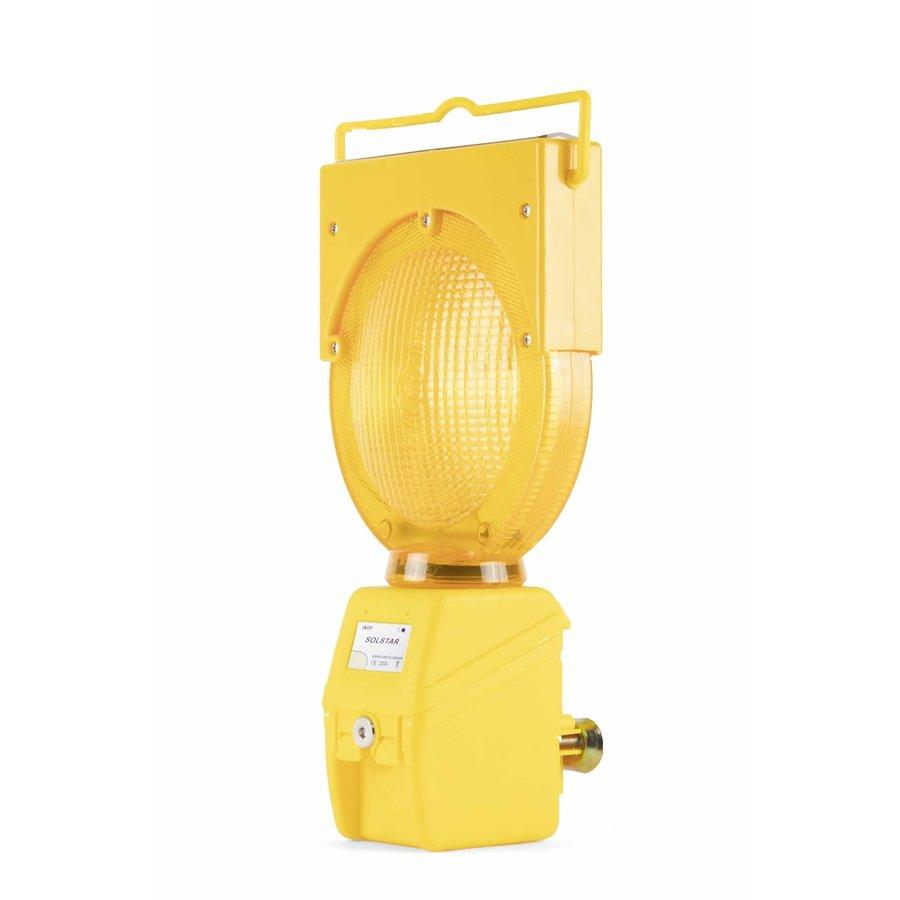 Oplaadbare werflamp SOLSTAR - geel-1