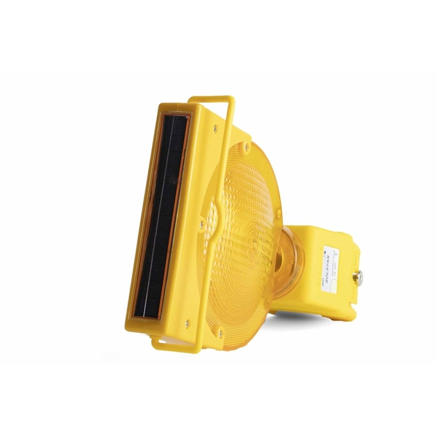 Oplaadbare werflamp SOLSTAR - geel-5