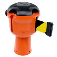 thumb-Enrouleur de sangle  SKIPPER avec 9 mètres de ruban de signalisation jaune/noir-1