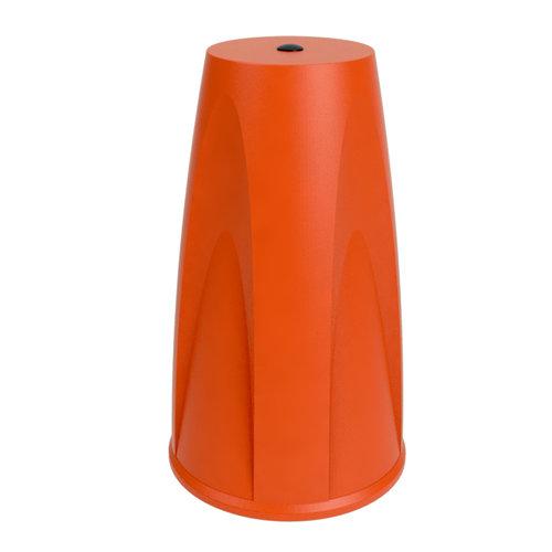 Eindkap voor SKIPPER afzetpaal - oranje