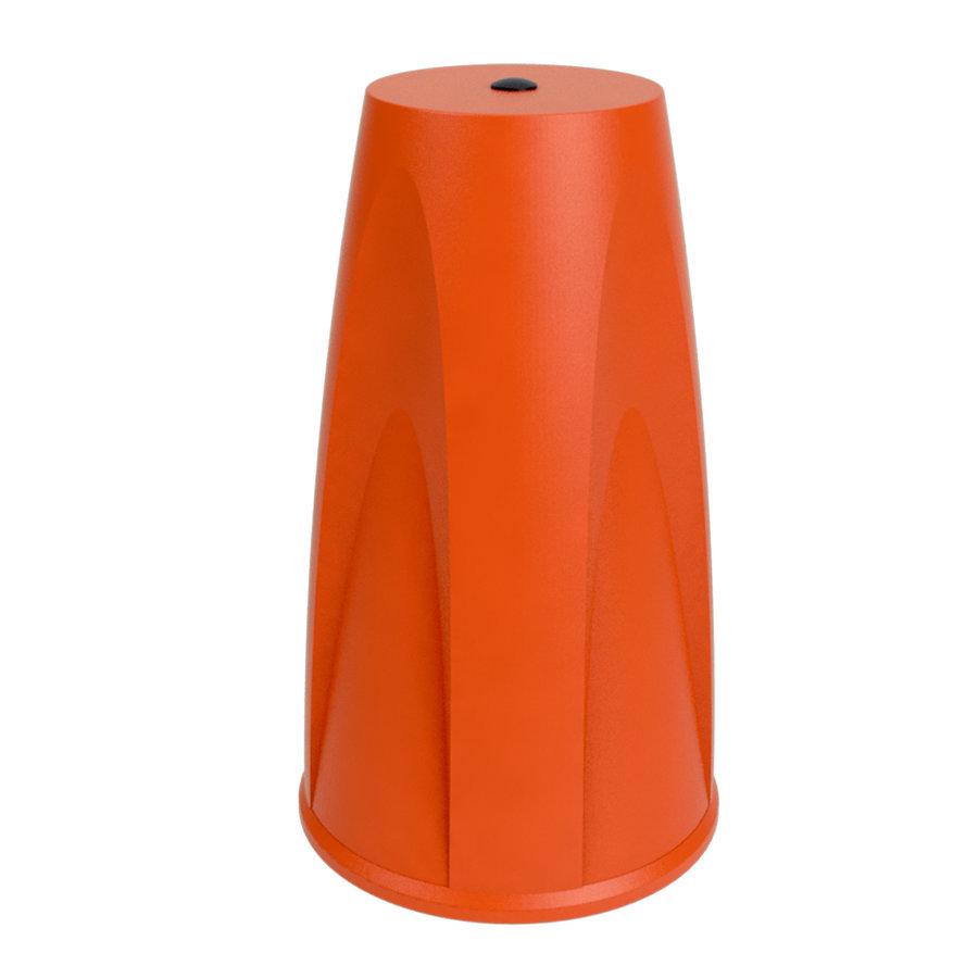 Eindkap voor SKIPPER afzetpaal - oranje-1