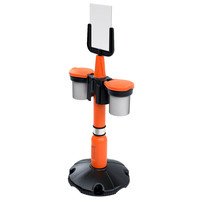 thumb-Eindkap voor SKIPPER afzetpaal - oranje-4