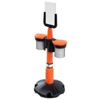 thumb-Embout poteau SKIPPER - orange-4