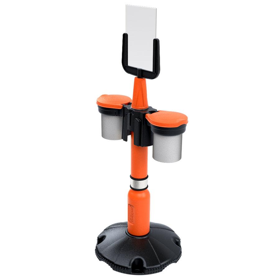 Eindkap voor SKIPPER afzetpaal - oranje-4