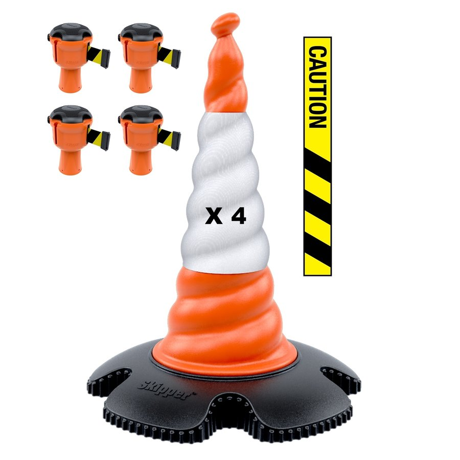Skipper ensemble cônes 81 m2 avec cônes Skipper et enrouleurs à sangle Skipper-7